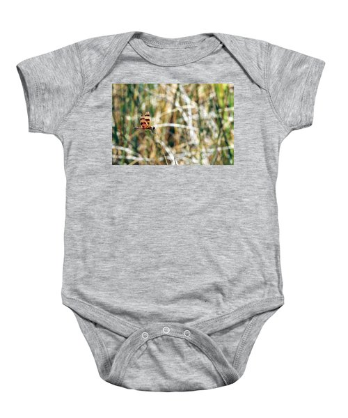 Red Dragonfly Baby Onesie