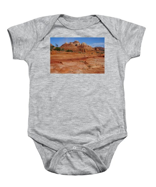 Red Rock Buttes Baby Onesie