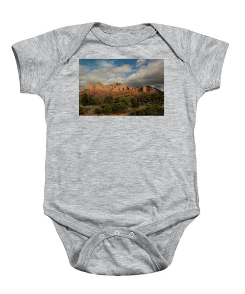 Red Rock Country Sedona Arizona 3 Baby Onesie by David Haskett
