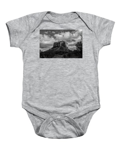 Red Rocks Sedona Bnw 1 Baby Onesie by David Haskett
