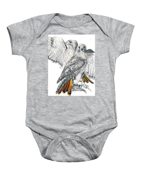 Red-tailed Hawk Baby Onesie