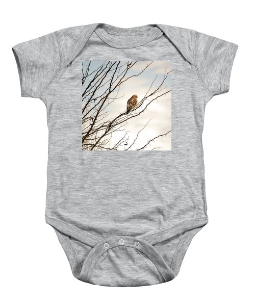 Red-tailed Hawk Baby Onesie