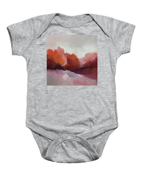 Red Valley Baby Onesie