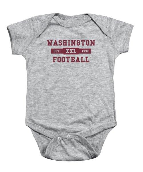 Redskins Retro Shirt Baby Onesie