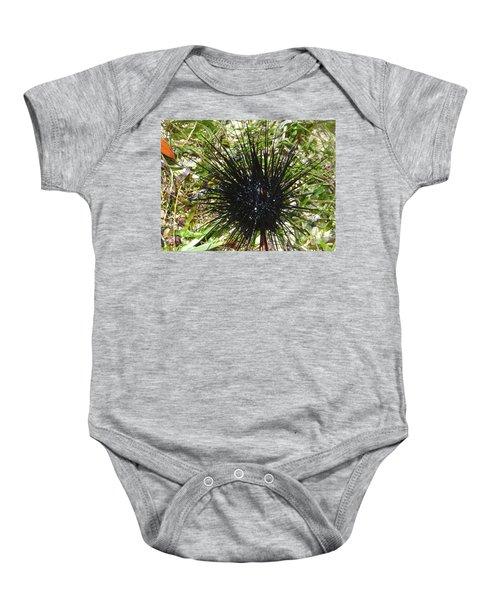 Reef Life - Sea Urchin 1 Baby Onesie