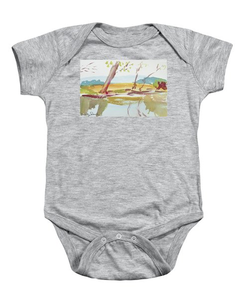 Quiet Stream Baby Onesie