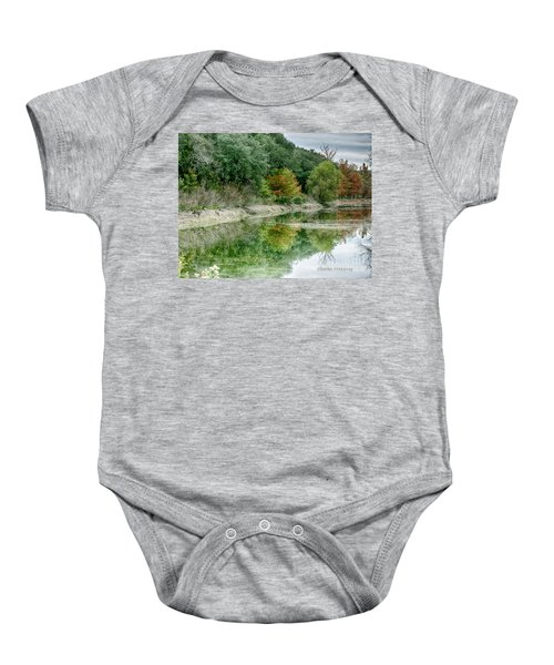 Reflections Of Fall Baby Onesie