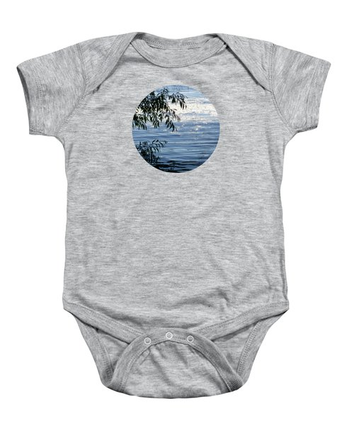 Reflections On The Lake Baby Onesie