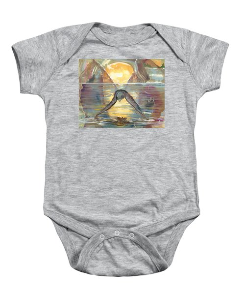 Reflections Swallowed Baby Onesie