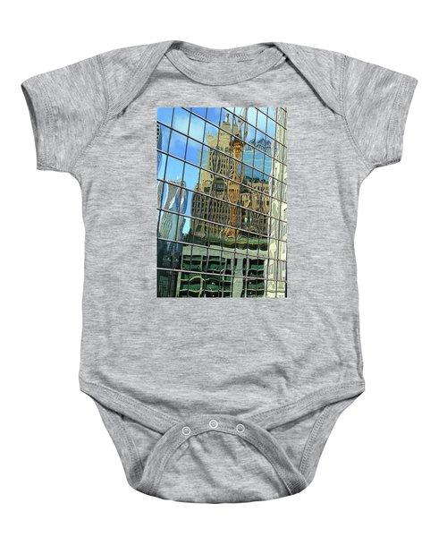 Reflective Chicago Baby Onesie