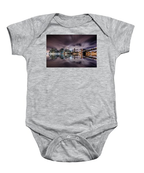 Reflector Adherence  Baby Onesie