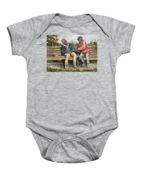 Remembering The Good Times Baby Onesie
