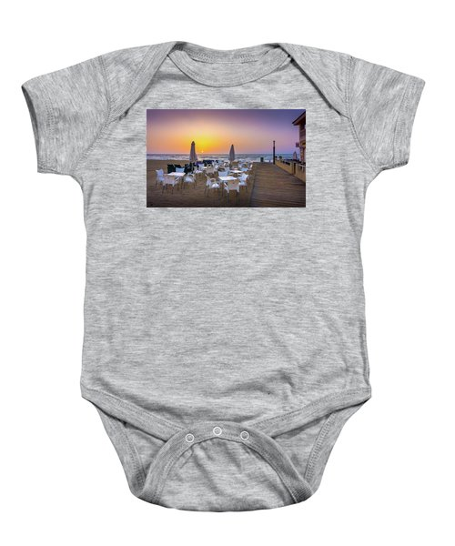 Restaurant Sunrise, Spain. Baby Onesie