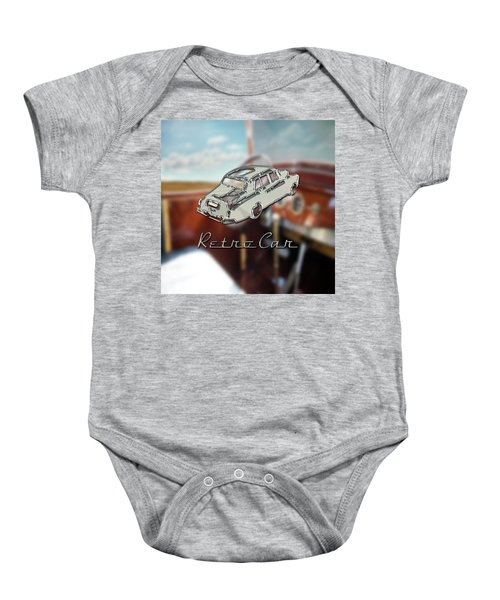 Retro Car Baby Onesie by La Reve Design