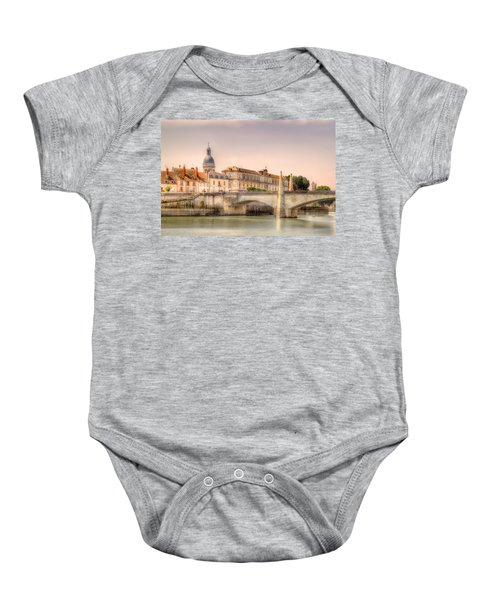 Bridge Over The Rhone River, France Baby Onesie