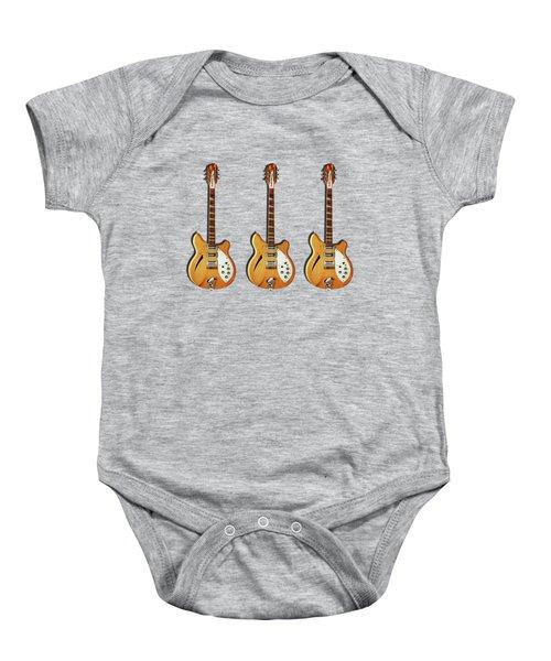 Rickenbacker 360 12 1964 Baby Onesie