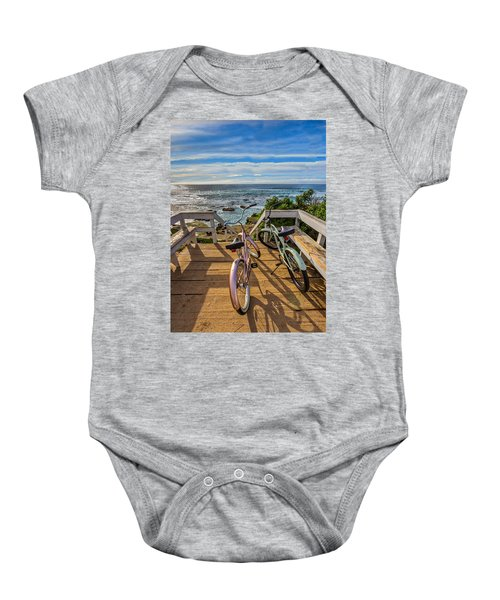 Ride With Me To The Beach Baby Onesie