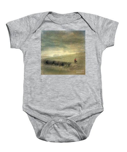Rider In The Storm Baby Onesie