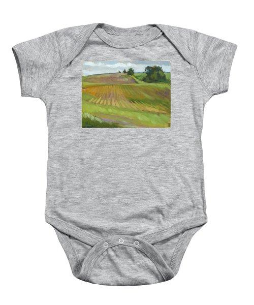 Rising Fields Baby Onesie