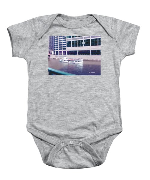River Boat Tour Baby Onesie