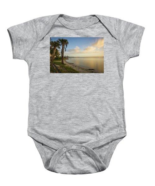 River Road  Sunrise  Baby Onesie