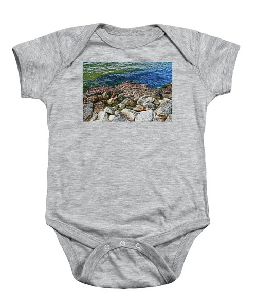 River Rocks Baby Onesie