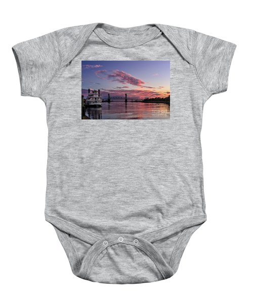 Cape Fear Riverboat Baby Onesie