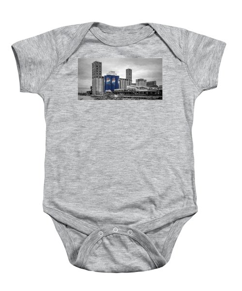Riverworks Blue Baby Onesie