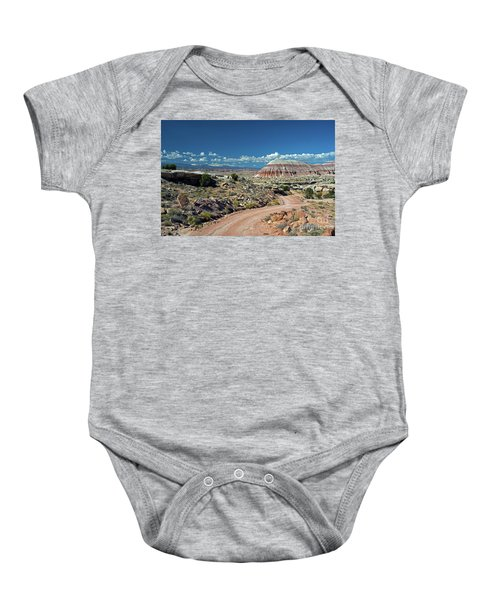 Road To Cathedral Valley Baby Onesie