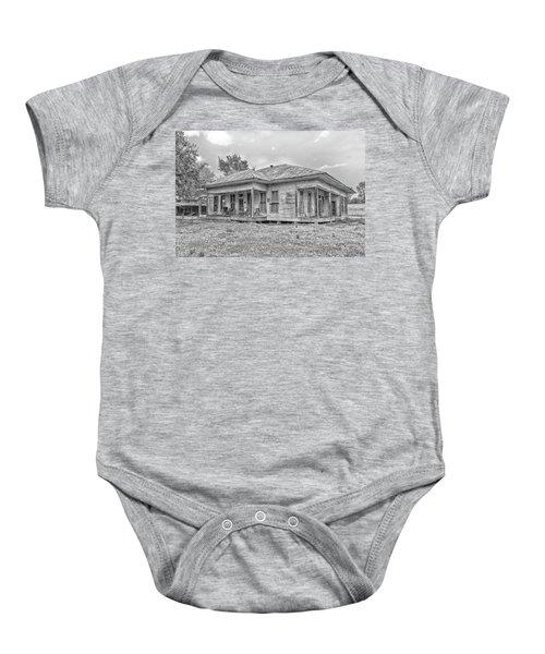 Roadside Old House Baby Onesie