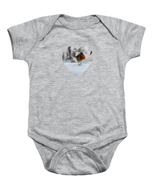 Robin Redbreast Baby Onesie