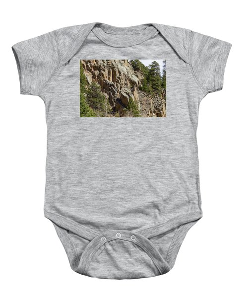 Baby Onesie featuring the photograph Rock Climbers Paradise by James BO Insogna