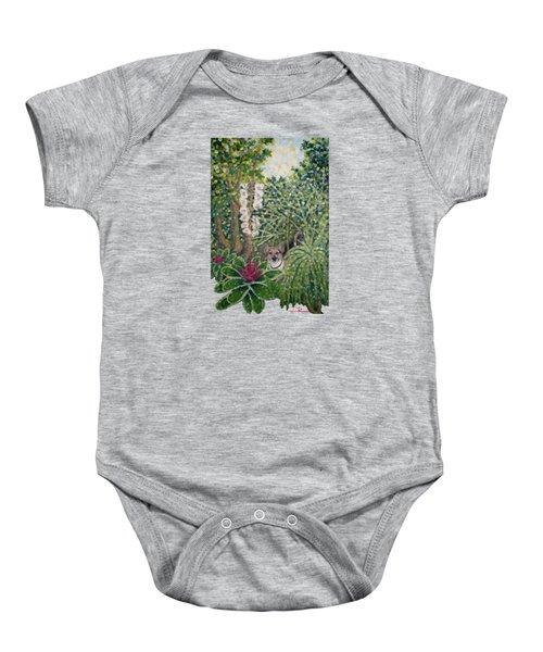 Rocke's Garden Clothing Baby Onesie by Jim Rehlin