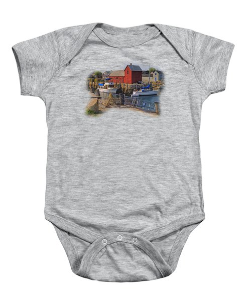 Rockport Waterfront Baby Onesie