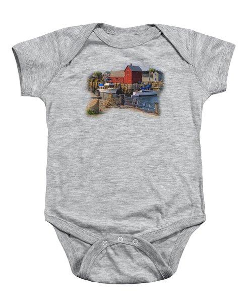 Rockport Waterfront Baby Onesie