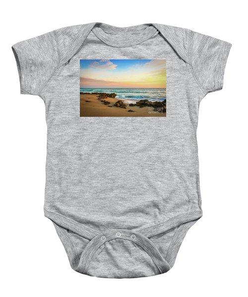Rocky Beach Baby Onesie