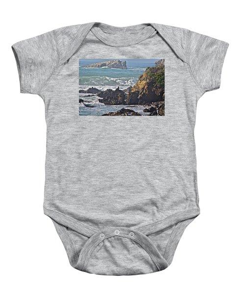 Rocky Coast Baby Onesie