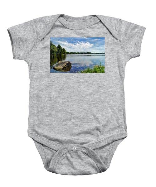 Rocky Fork Lake Baby Onesie