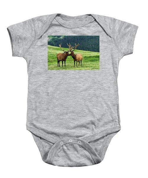 Rocky Mountain Elk 2 Baby Onesie