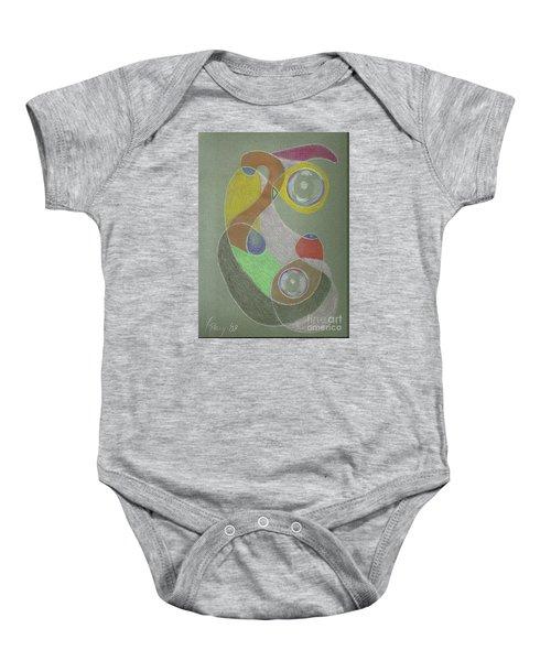 Roley Poley Vertical Baby Onesie