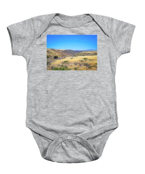 Rolling Landscape Baby Onesie