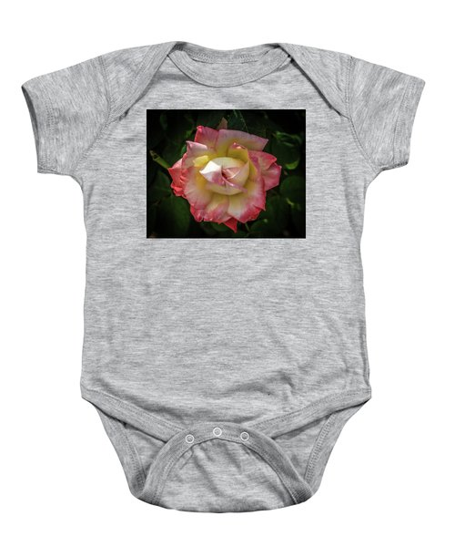 Rose From Mable Ringling's Garden Baby Onesie