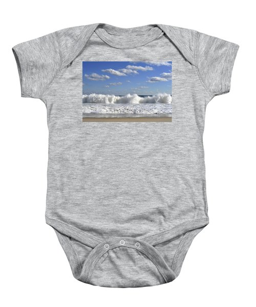 Rough Surf Jersey Shore  Baby Onesie