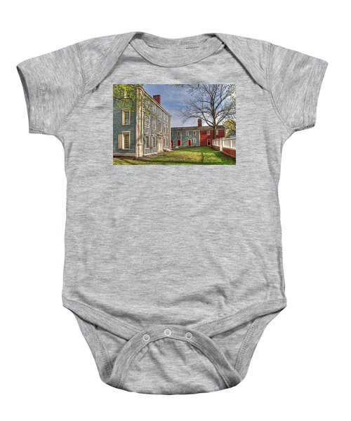 Royall House And Slave Quarters Baby Onesie
