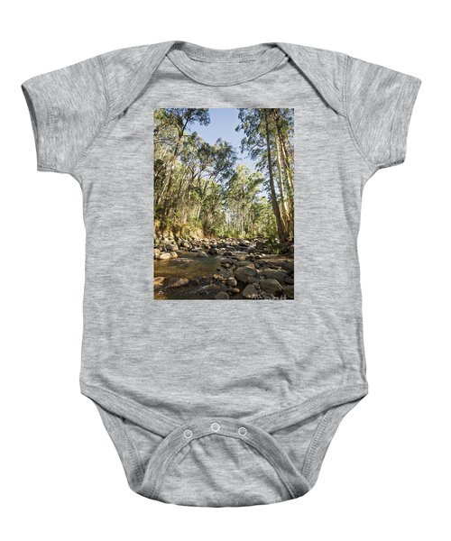 Baby Onesie featuring the photograph Rubicon River by Linda Lees