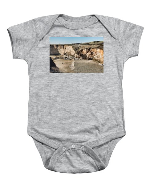 Rugged Coastline Baby Onesie