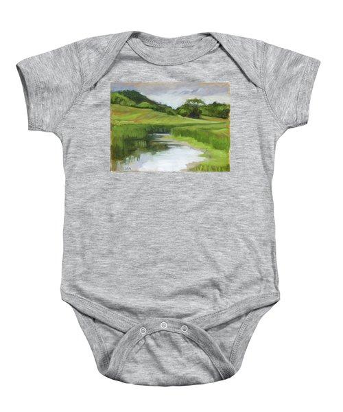 Rural Marsh Baby Onesie