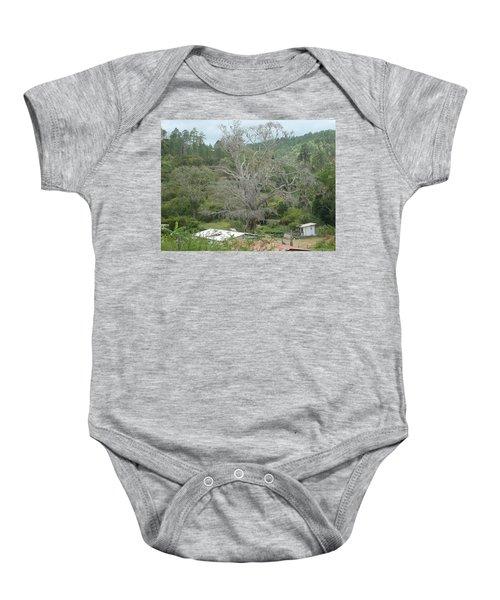 Rural Scenery Baby Onesie