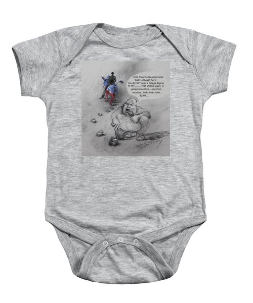 Rush Limbaugh After Obama  Baby Onesie