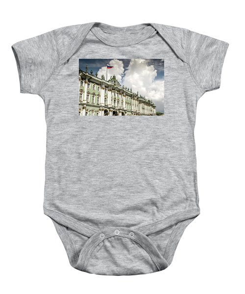 Russian Winter Palace Baby Onesie